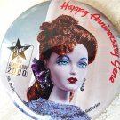 Mint, Gene Doll Collector's 5th Anniversary Hat Box, Inside Two Commemorative Pin Buttons