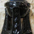 Black and Blue Porcelain Oil Burner
