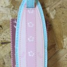 Pink Vinyl Surf Board Luggage Tag