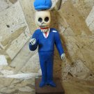 Clay Day of the Dead Figure, Mailman