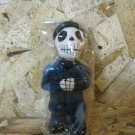 Day of the Dead Candle, Man in Blue Suit