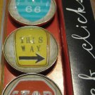 Set of Four Street Sign Magnets