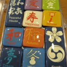 Set of Ten Chinese Symbol Magnets