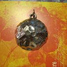 Silver Dimpled Pendant