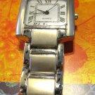 Silver Square Quartz Watch