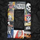 Single Switch Plate Cover, Flat, Day of the Dead Collage
