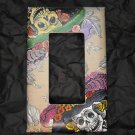 Single Switch Plate Cover, Flat, Double Catrina Print