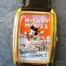 "Mickey Mouse ""Barnyard Olympics"" Movie Poster Watch"