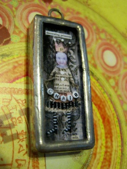 """The Decorating Princess"" Charm Pendant"
