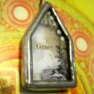 "The House of ""Grace"" Charm, Necklace Pendant"