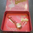 """""""Pretty and Pink"""" Limited Edition Barbie Watch, Charm Pin, and Lunch Box Set"""