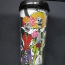 Travel Mug, Colorful Day of the Dead Couple