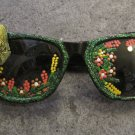 Hand Painted Frog Sun Glasses