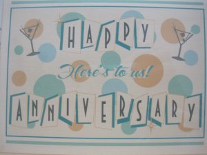 Suburbanmartini   ECRATER  Print Anniversary Card