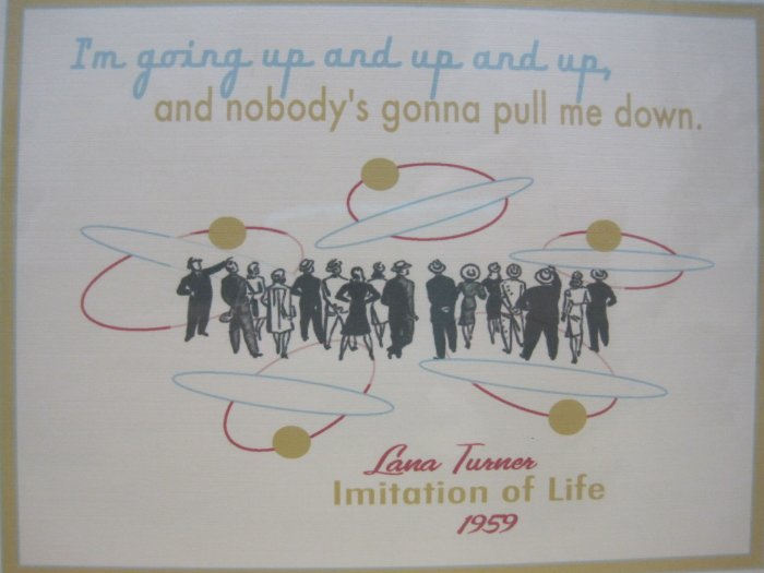 Achievement Card ~ Lana Turner Quote