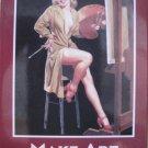 """Make Art, Not War"" Square Magnet"