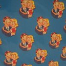 Retro Couple Hugging Print Wrapping Paper