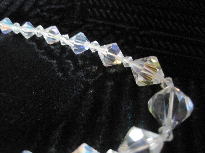Retro Crystal Beaded Necklace