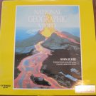 "National Geographic Videodisc, ""Born of Fire"" Beautiful Cover Art"