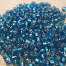 Ice Blue Seed Beads, Small Bag