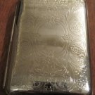 Silver Id Case with Etched Design