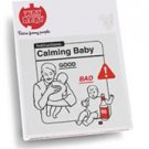 """""""Calming Baby"""" Instructional Onesie in White, Size 6-12 Mo"""