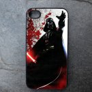 Darth Vader with Red Print Background Decorated iPhone 4,5,6 or 6plus Case
