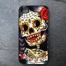 Day of the Dead Woman Decorated iPhone 4,5,6 or 6plus Case