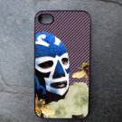 Mexican Wrestler with Flower Print Decorated iPhone 4,5,6 or 6plus Case