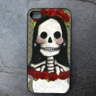 Day of the Dead Bride Decorated iPhone 4,5,6 or 6plus Case
