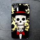 Groom on Yellow and Black Print Background Decorated iPhone 4,5,6 or 6plus Case