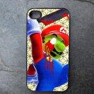 Killer Mario Print Decorated iPhone 4,5,6 or 6plus Case