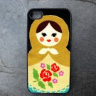 Russian Stacking Doll Print Decorated iPhone 4,5,6 or 6plus Case