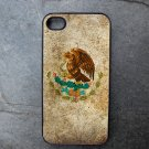 Mexican Flag Print Decorated iPhone 4,5,6 or 6plus Case