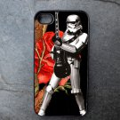 Storm Trooper Playing Guitar Print Decorated iPhone 4,5,6 or 6plus Case