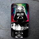 Darth Vader on Colorful Background Decorated iPhone 4,5,6 or 6plus Case