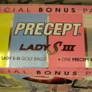 Ladies Precept Golf Ball Set and Towel