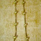Faux Pearls on Silver Snake Chain, Necklace