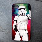 Storm Trooper on Colorful Background Decorated iPhone 4,5,6 or 6plus Case