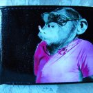 Hand Decorated Wallet, Smoking Monkey Print