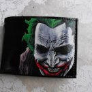 Hand Decorated Wallet, Batman's Joker Print