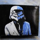 Hand Decorated Wallet, Storm Trooper in Suit Print
