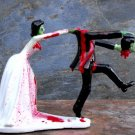Headless Zombie Wedding Cake Toppers