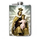 Stainless Steel Flask - 8oz., Angel and Child Print