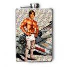 Stainless Steel Flask - 8oz., Super Sexy Luke Skywalker