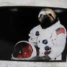 Hand Decorated Wallet, Sloth Astronaut Print