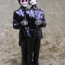 Day of the Dead Beautiful Groom and Groom Wedding Cake Toppers