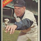 Retro Baseball Card, Whitey Ford, 1966, Topps #160