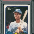 Retro Baseball Card, Ken Griffey Jr., 1989 Topps Traded #41T RC PSA 9