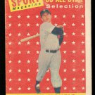 Retro Baseball Card, Mickey Mantle 1958 Topps #487 All-Star